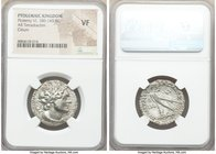 PTOLEMAIC EGYPT. Ptolemy VI Philometor (180-145 BC). AR tetradrachm (26mm, 11h). NGC VF. Citium, second sole reign, 159 BC. Diademed head of Ptolemy I...