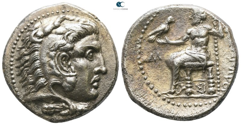 Kings of Macedon. Sidon. Philip III Arrhidaeus 323-317 BC. In the name and types...