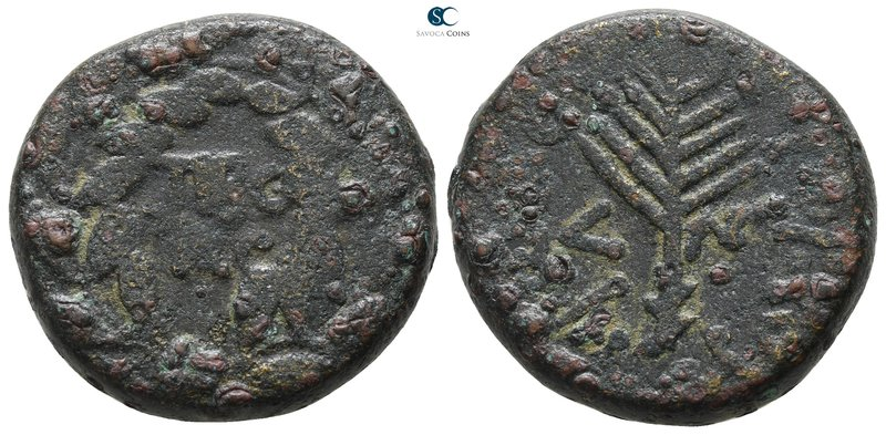 Judaea. Tiberias. Herodians. Herod III Antipas 4 BCE-39 CE. Dated RY 33