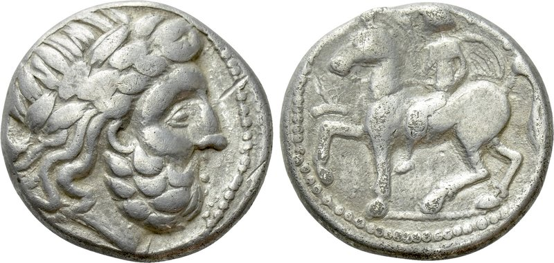 EASTERN EUROPE. Imitations of Philip II of Macedon (2nd-1st centuries BC). Tetra...
