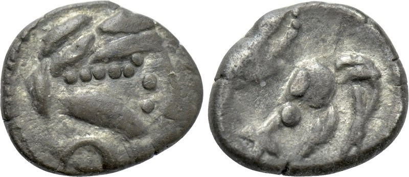 EASTERN EUROPE. Imitations of Philip II of Macedon (2nd-1st centuries BC). Obol....