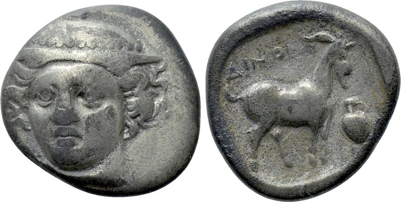 THRACE. Ainos. Tetrobol (Circa 402/1-361/0 BC). 