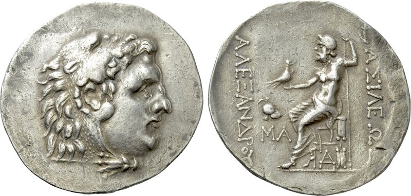 KINGS OF MACEDON. Alexander III 'the Great' (336-323 BC). Tetradrachm. Mesambria...