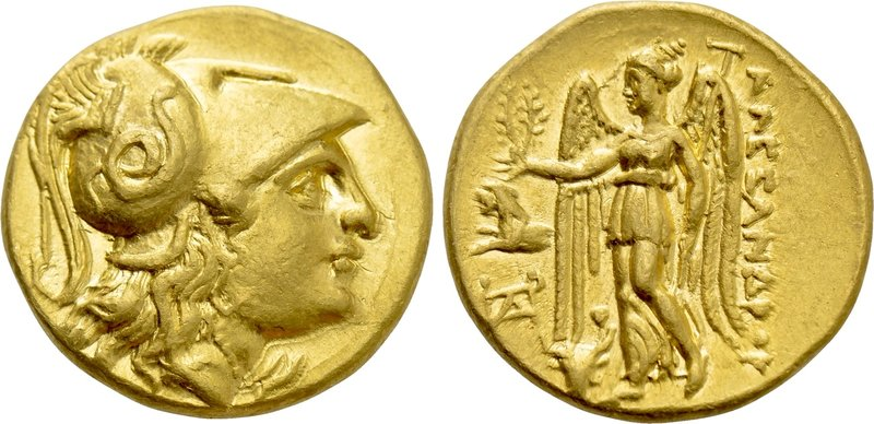 KINGS OF MACEDON. Alexander III 'the Great' (336-323 BC). GOLD Stater. Uncertain...