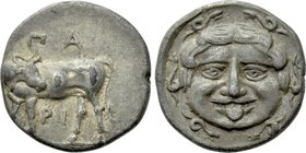 MYSIA. Parion. Hemidrachm (4th century BC).