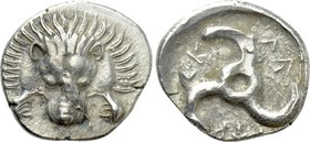 DYNASTS OF LYCIA. Perikles (Circa 380-360 BC). Tetrobol. Uncertain mint, possibly Limyra.
