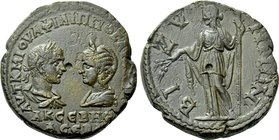 THRACE. Bizya. Philip I the Arab with Otacilia Severa (244-249). Ae.