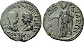 THRACE. Mesembria. Philip I the Arab with Otacilia Severa (244-249). Ae.