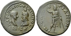 THRACE. Mesembria. Philip II, with Serapis (247-249). Ae.