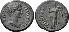 LYDIA. Tripolis. Pseudo-autonomous. Time of the Antonines (138-192). Ae.