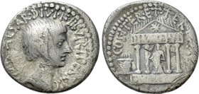 OCTAVIAN. Denarius (36 BC). Mint in central or southern Italy.