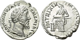 MARCUS AURELIUS (161-180). Denarius. Contemporary imitation of Rome.