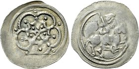 HOLY ROMAN EMPIRE. Ottokar IV (Duke of Styria, 1164-1192). Pfennig. Fischau.