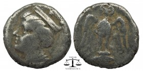 Pontus. Amisos . 400-300 BC. Ar Drachm.