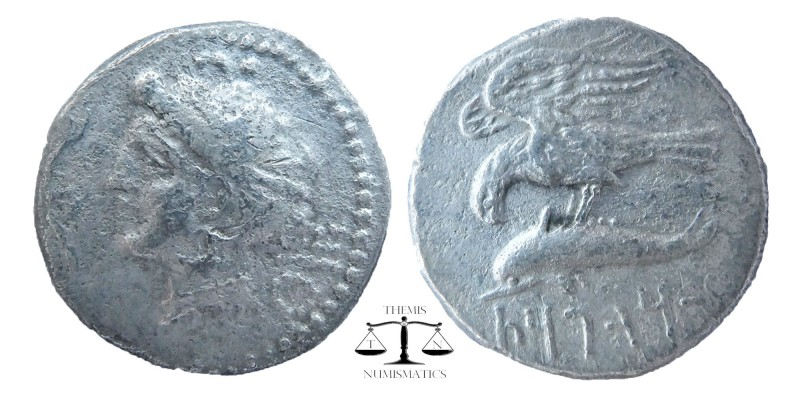 KINGS of CAPPADOCIA. Ariarathes I. 333-322 BC. AR Drachm. Sinope mint