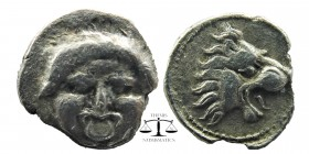 Selge, Pamphylia. AR Hemiobol, 4th Century BC.