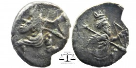 Cilicia, Mallos AR Obol. Circa 390-385 BC.