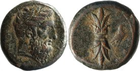 SICILY, SYRACUSE, Timoleon and the third Democracy, c. 344-317 BC, AE hemidrachm.