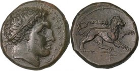 SICILY, SYRACUSE, Time of Fourth Democracy, c. 289-287 BC. AE 23.