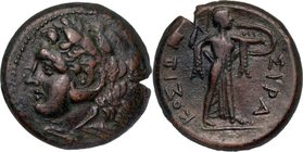 SICILY, SYRACUSE, Time of Pyrrhus, c. 278-276 BC. AE 23.