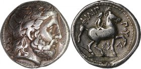 KINGS OF MACEDON, PHILIP II, c. 320-317 under Polyperchon. AR tetradrachm