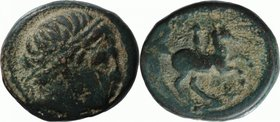 KINGS OF MACEDON, PHILIP II, c. 359-336. AE 18.
