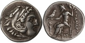 KINGS OF MACEDON, ALEXANDER III THE GREAT, c, 336-323. AR, drachm.