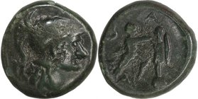 KINGS OF MACEDON, ANTIGONOS II GONATAS, c. 277-239 BC. AE 19.