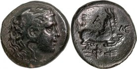 KINGS OF MACEDON, PHILIP V (221-179 BC), struck c. 200-179 BC. AE 22.