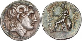 KINGS OF THRACE, LYSIMACHOS, c. 305-281 BC. AR, tetradrachm.