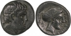 THESSALY, PHALANNA, c. late fourth/early third cent. BC. AE trichalkon.