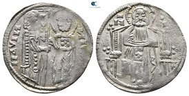 Stefan II Dragutin AD 1276-1282. Contemporary Bulgarian imitation. Dinar AR