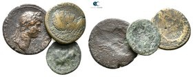 Lot of ca.3 Roman Imperial Bronze Coins / SOLD AS SEEN, NO RETURN!nearly very fine