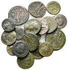 Lot of ca.18 Roman Imperial Bronze Coins / SOLD AS SEEN, NO RETURN!very fine