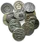 Lot of ca.12 Roman Imperial Bronze Coins / SOLD AS SEEN, NO RETURN!very fine