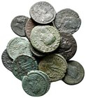 Lot of ca.15 Roman Imperial Bronze Coins / SOLD AS SEEN, NO RETURN!very fine