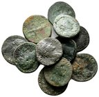 Lot of ca.11 Roman Imperial Bronze Coins / SOLD AS SEEN, NO RETURN!nearly very fine