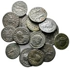 Lot of ca.20 Roman Imperial Bronze Coins / SOLD AS SEEN, NO RETURN!very fine