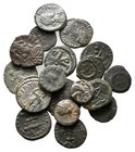 Lot of ca.17 Roman Imperial Bronze Coins / SOLD AS SEEN, NO RETURN!very fine