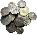 Lot of ca.12 Roman Provincial & Imperial Bronze Coins / SOLD AS SEEN, NO RETURN!very fine