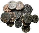 Lot of ca.15 Byzantine bronze Coins / SOLD AS SEEN, NO RETURN!very fine