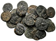 Lot of ca.25 Byzantine bronze Coins / SOLD AS SEEN, NO RETURN!nearly very fine