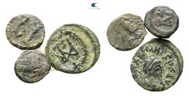 Lot of ca.3 Byzantine Bronze Coins / SOLD AS SEEN, NO RETURN!nearly very fine