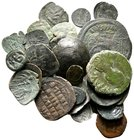 Lot of ca.30 Byzantine Bronze Coins / SOLD AS SEEN, NO RETURN!nearly very fine