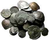 Lot of ca.30 Byzantine Bronze&Silver Coins / SOLD AS SEEN, NO RETURN!nearly very fine