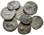 Lot of ca.8 Byzantine Bronze Coins / SOLD AS SEEN, NO RETURN!very fine
