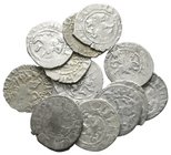 Lot of ca.12 Medieval Silver Coins / SOLD AS SEEN, NO RETURN!nearly very fine