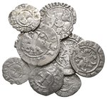 Lot of ca.8 Medieval Silver Coins / SOLD AS SEEN, NO RETURN!nearly very fine