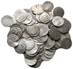 Lot of ca.100 Islamic Silver Coins / SOLD AS SEEN, NO RETURN!nearly very fine