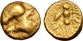 Central Europe, the Boii AV 1/8 Stater. Athene-Alkis Type.